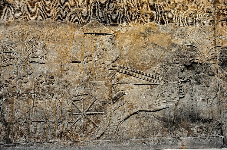 Assyrian Military Campaign in Southern Mesopotamia