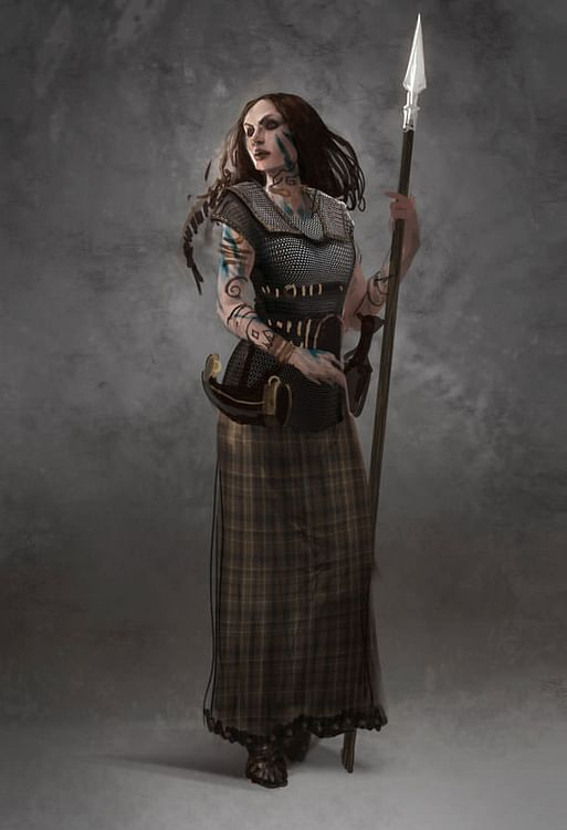 Briton Woman Warrior (The Creative Assembly)