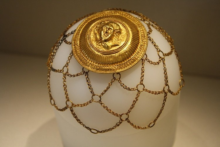 Gold Hair Ornament