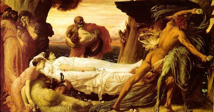 Hércules luchando contra la muerte para salvar a Alcestis (transferido de en.wikipedia a Commons por Ntetos usando CommonsHelper)