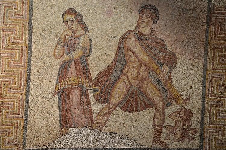 Hercules Furens Mosaic