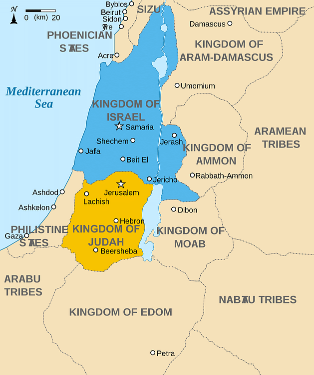 Jerusalem Ancient History Encyclopedia - Jerusalem map world