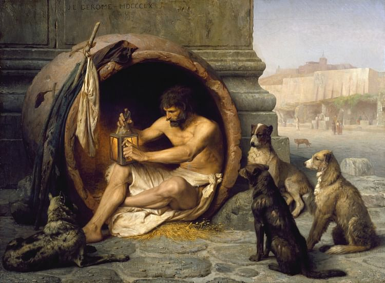 Diogenes of Sinope (Wikipedia User: Singinglemon)