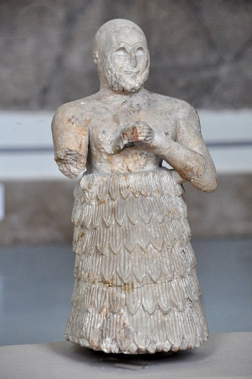 Statuette of a Praying Man