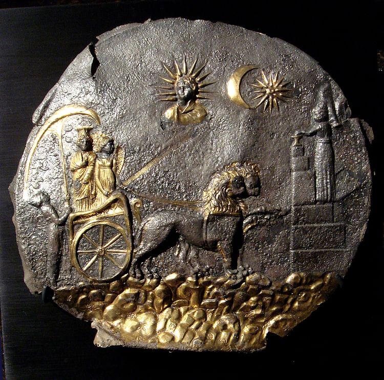 Cybele Plate (Museé Guimet)