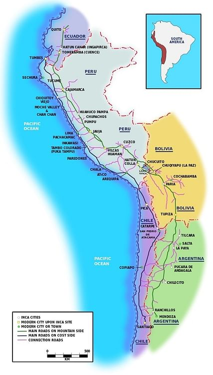 The Inca Road System - Ancient History Encyclopedia