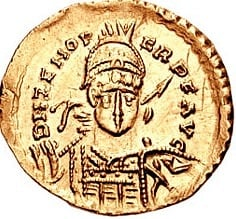 Odoacer Solidus (Coin) (Saperaud)