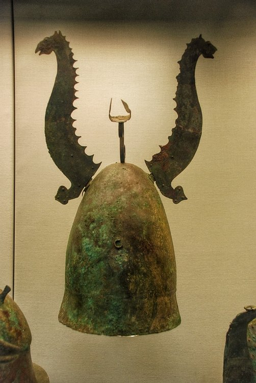Sea-Monster Helmet