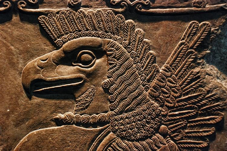 Nineveh ancient history encyclopedia eagle headed protective spirit publicscrutiny Choice Image