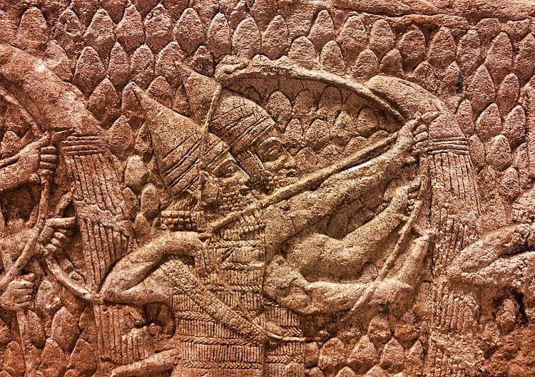 Arqueros asirios ()