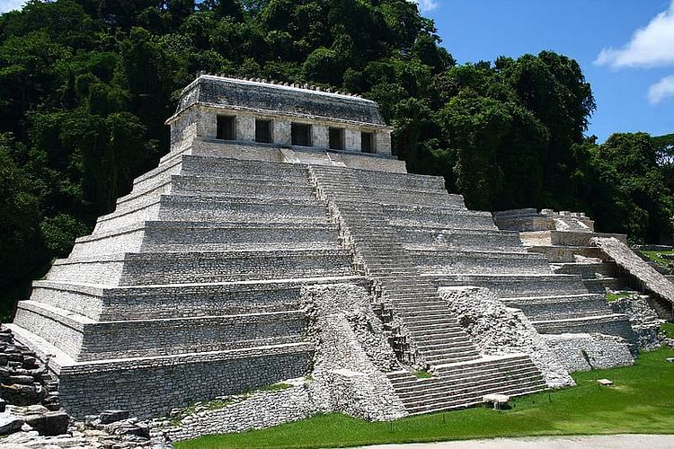 Temple of the Inscriptions, Palenque (Jan Harenburg)