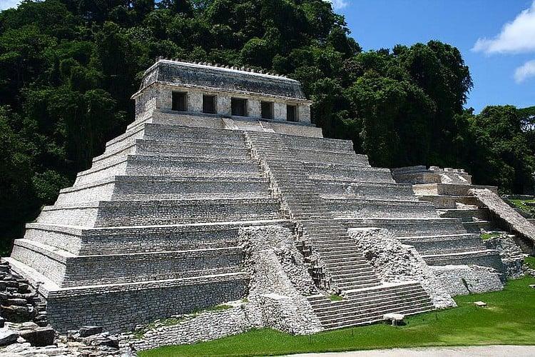 Templo de las Inscripciones, Palenque (Jan Harenburg)