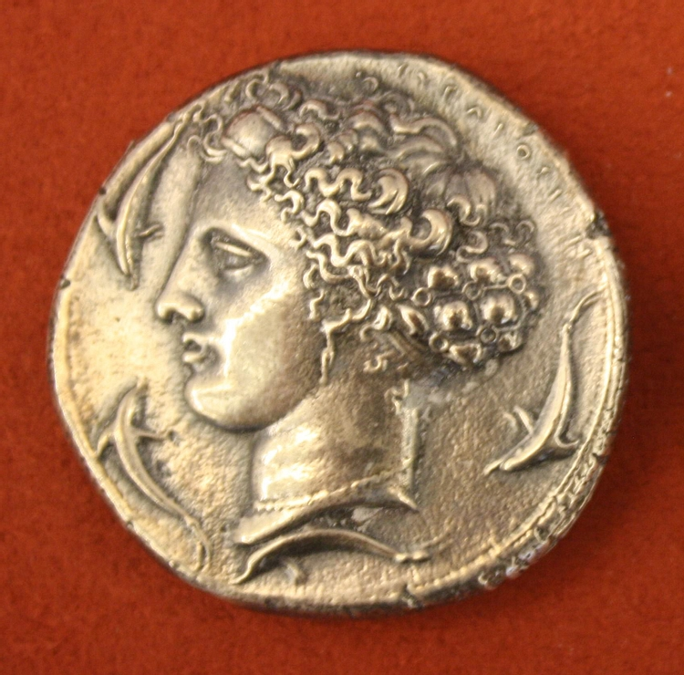 Silver Decadrachm, Syracuse