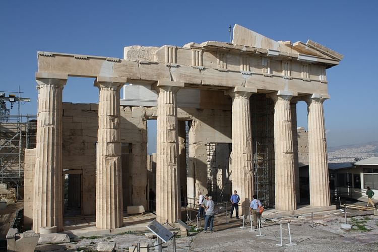 Modern Architecture With Greek Influence