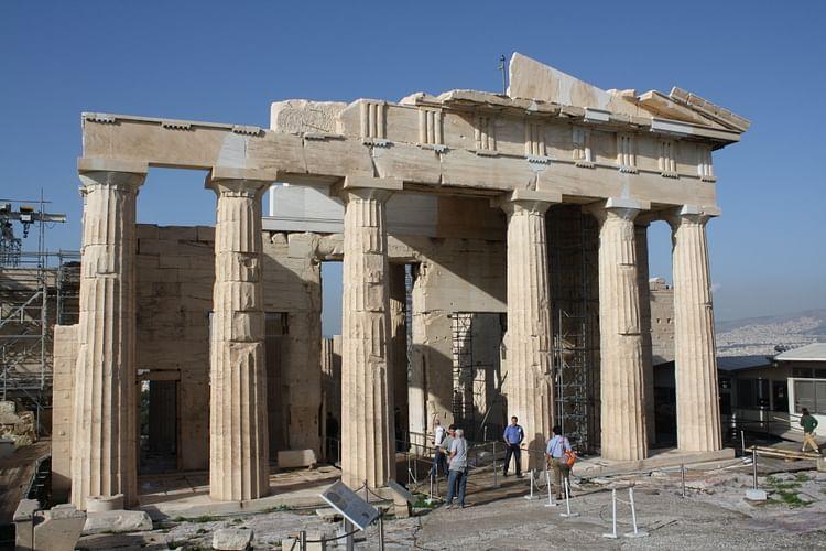 Propileos, Acrópolis de Atenas (Jehosua)