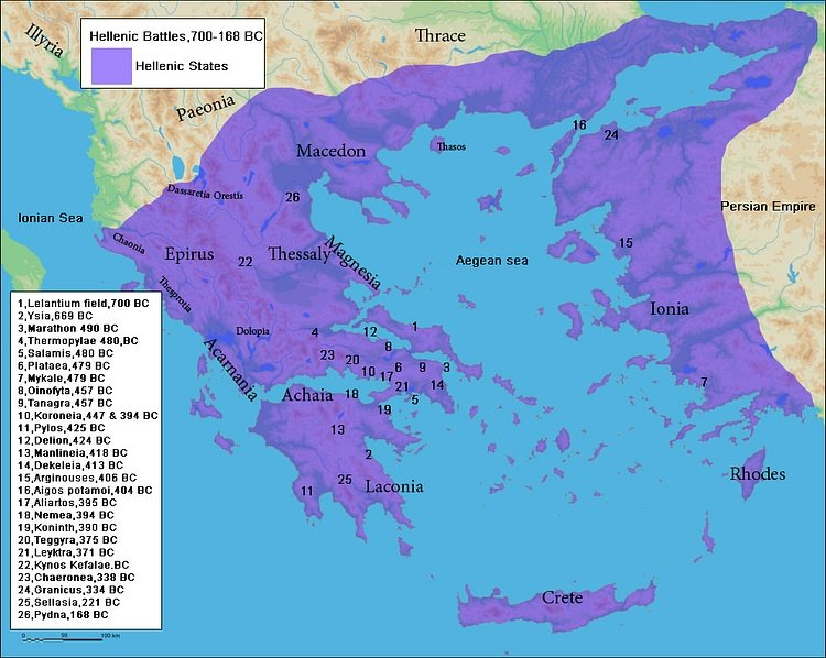Battles of Ancient Greece