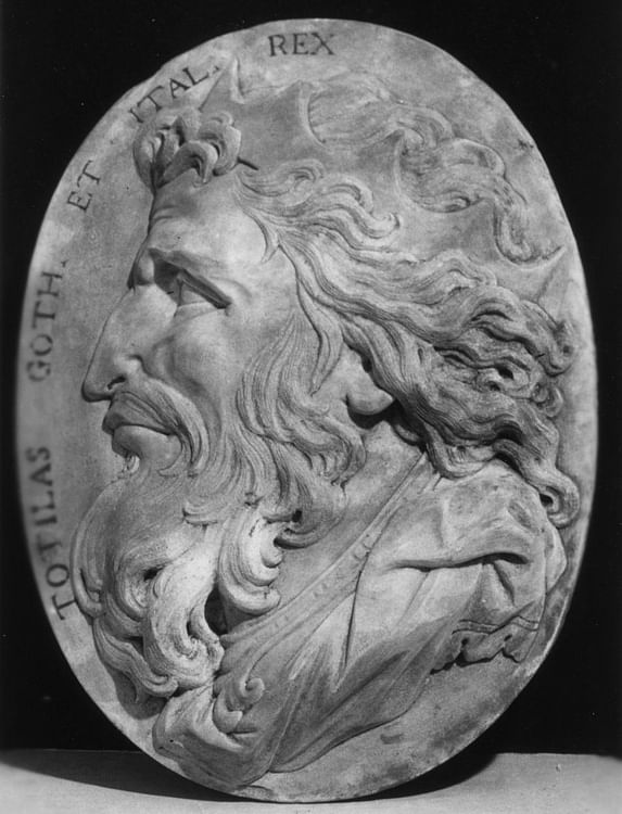 Totila, King of the Ostrogoths (The Walters Art Museum)