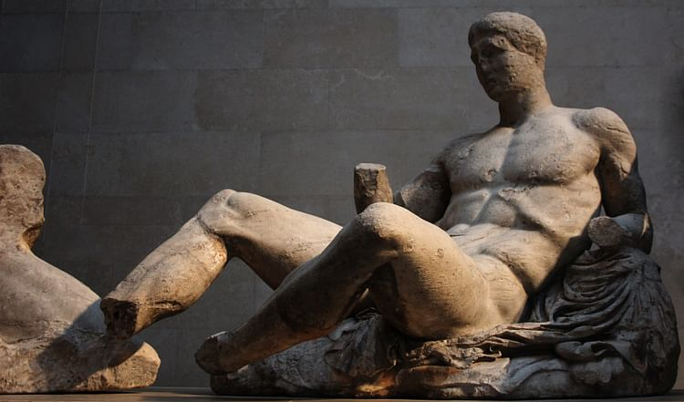 Dionysos from the Parthenon.