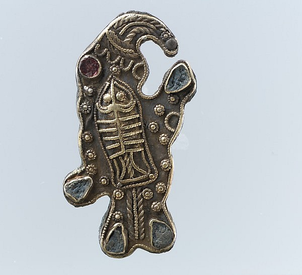 Frankish Bird-Shaped Brooch