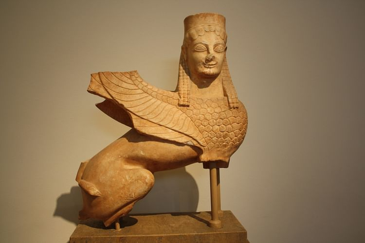Greek Funerary Sphinx