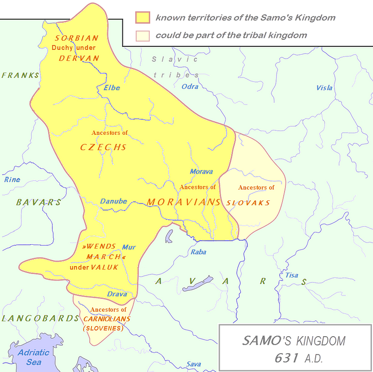 Kingdom of Samo (Bostjan46)