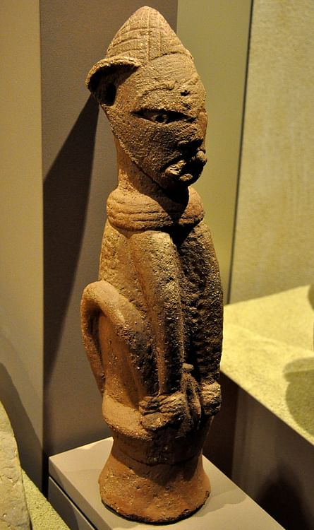 Cat Statue from the Nok Culture