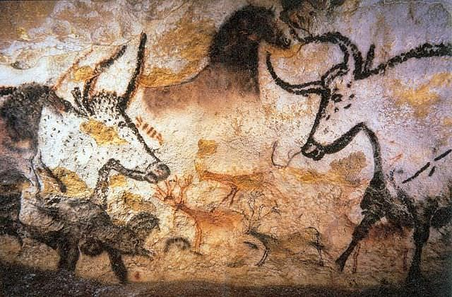 Cave Painting in Lascaux