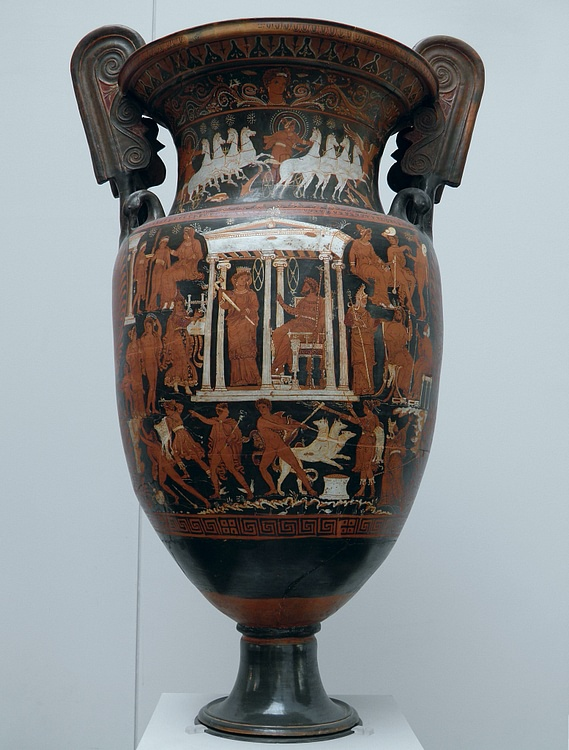 Apulian Krater with Scenes of the Underworld