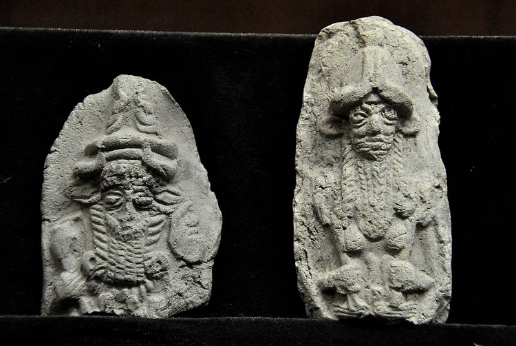 God and Goddess from Mesopotamia