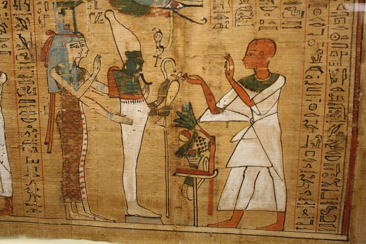 an analysis of the book of the dead and the egyptian afterlife The book of the dead is a large collection of ancient egyptian religious texts relating to funerals and the afterlife the texts include spells, magic formulas, hymns, and prayers.