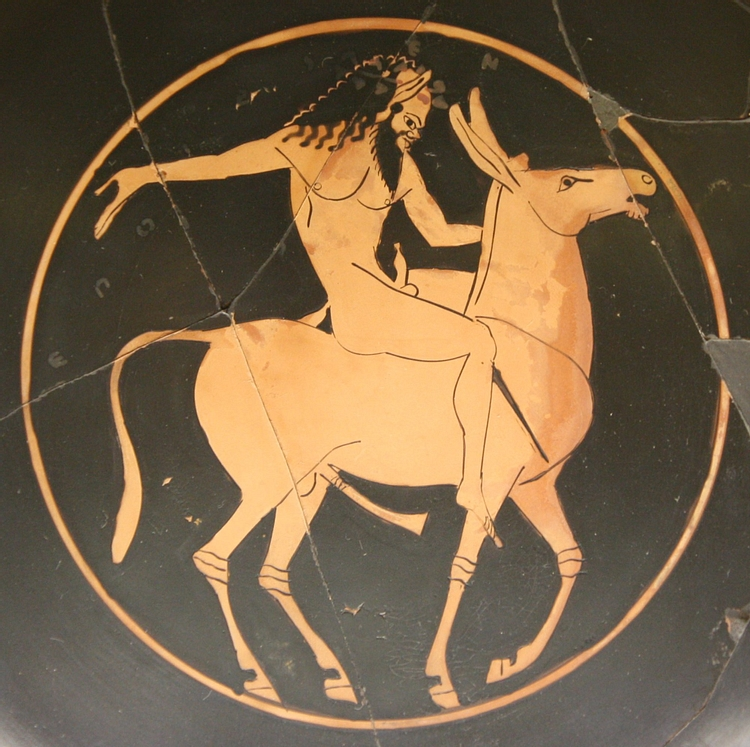 Red-Figure Satyr