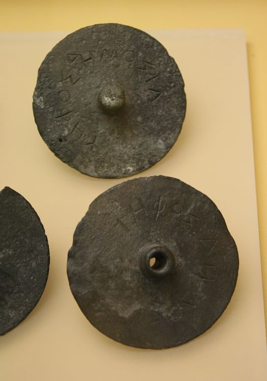 Greek Bronze Ballot Disks ()