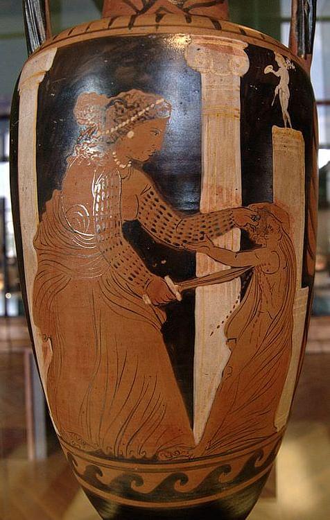 Medea mata a su hijo (Bibi Saint-Pol)