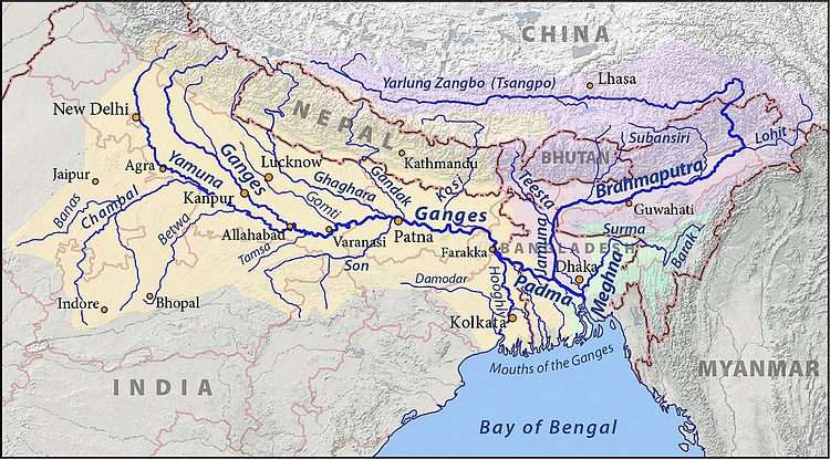 The River Ganges