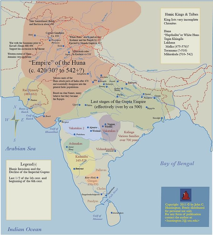 White Huns (Hephthalites) - Ancient History Encyclopedia