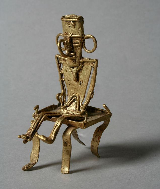 Muisca Gold Figure (Museo Metropolitano de Arte)