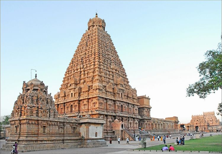 Thanjavur ancient history encyclopedia for Architecture inde