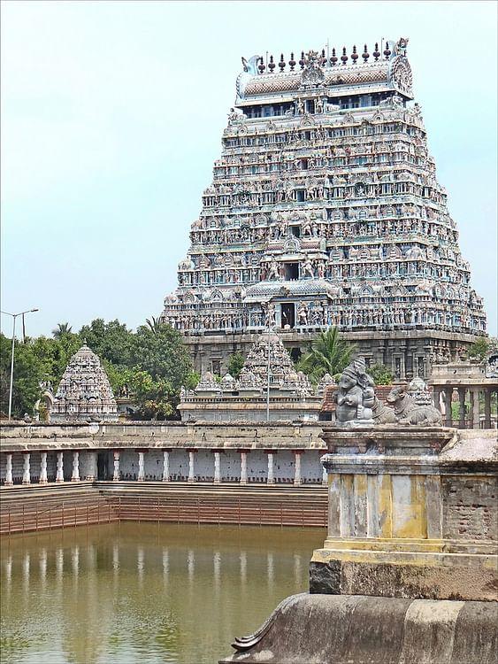 Gopura & Nataraja Temple, Chidambaram (Jean-Pierre Dalbera)