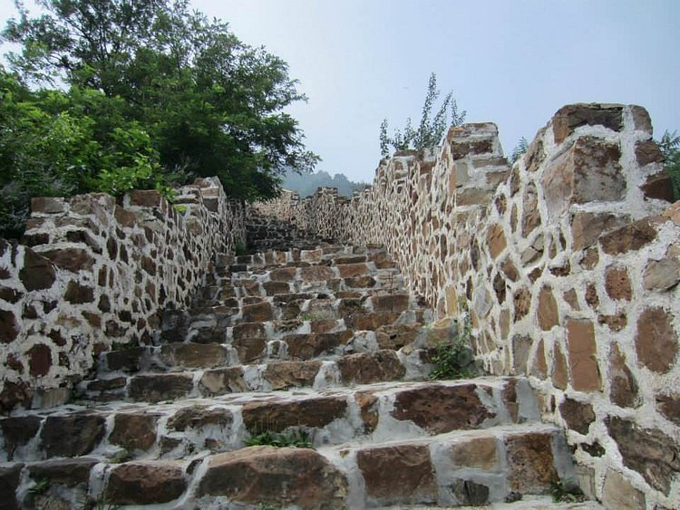 Great Wall of China Stairs