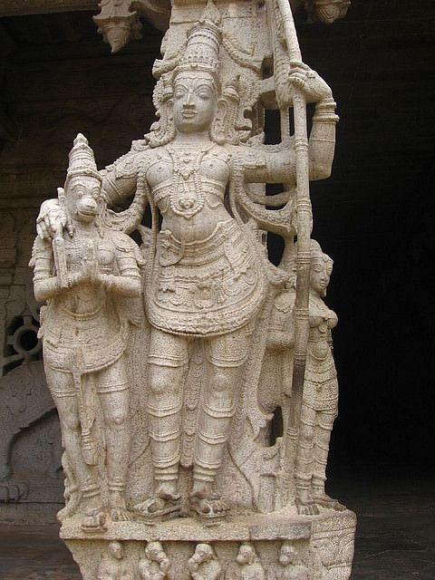 Rama & Hanuman (Sowrirajan)