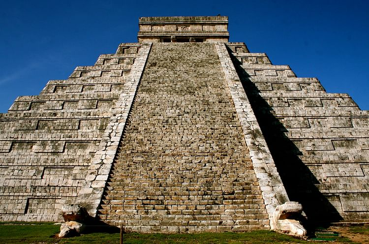 Staircase, Pyramid of Kukulcan, Chichen Itza