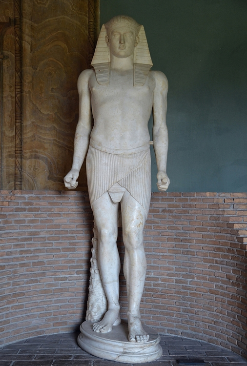 Antinous as Osiris