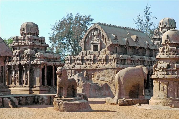 Pancha Ratha, Mahabalipuram (Jean-Pierre Dalbéra)