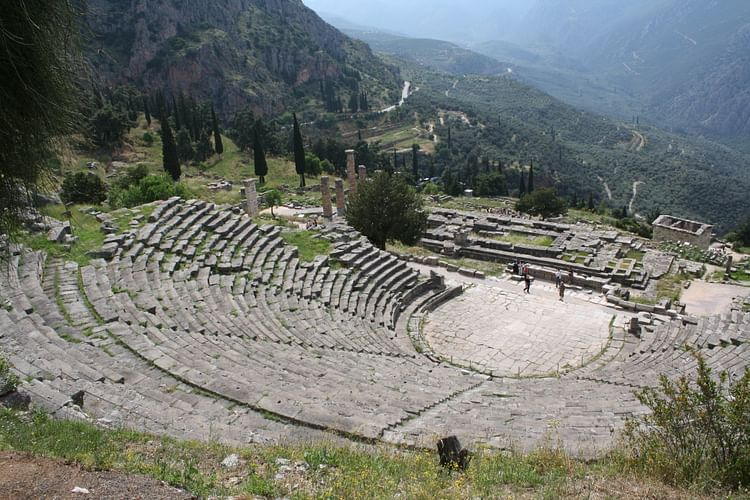 Greek Theatre Architecture Ancient History Encyclopedia
