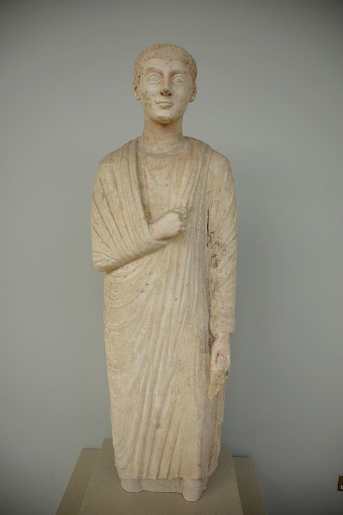Statue of a Man from Oxyrhynchus
