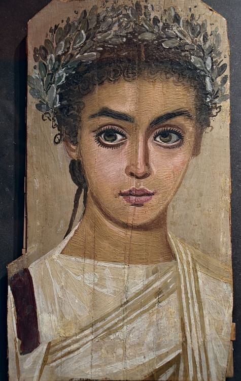Mummy Portrait of a Girl (Carole Raddato)
