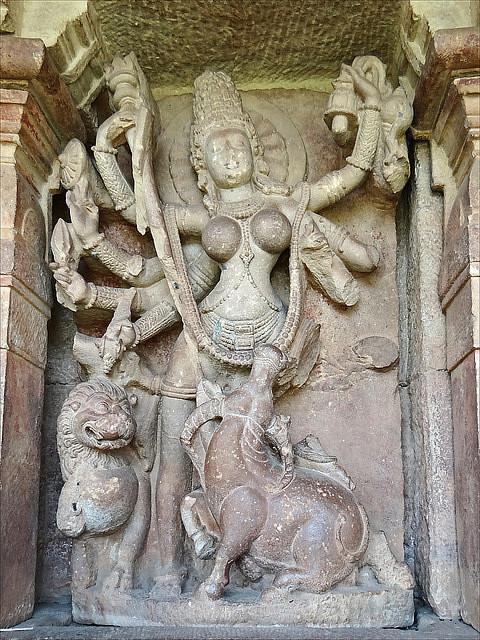 Durga, Aihole (Jean-Pierre Dalbéra)