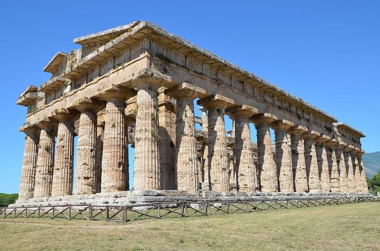 Temple of Hera II, Paestum (Carole Raddato)