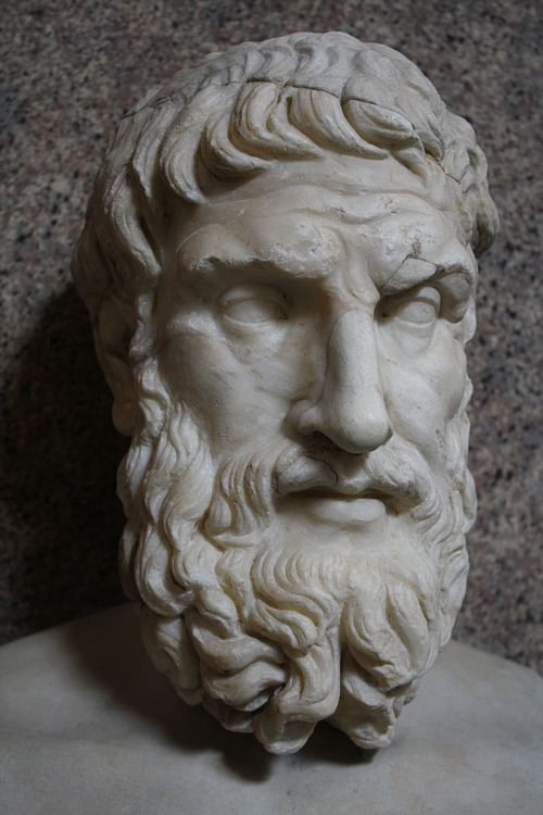 Epicurus Bust, Vatican Museums