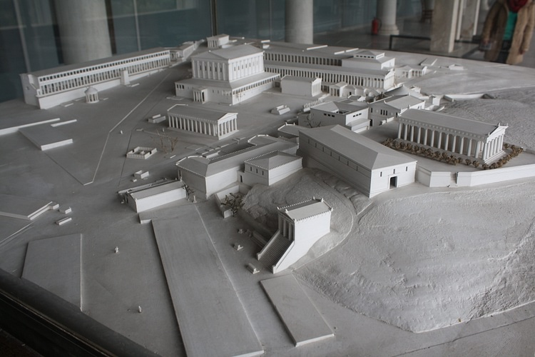 Model of the Agora of Athens ()